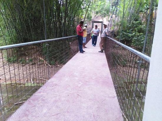 Habitantes de Chirijos tienen nuevo puente  sobre el río Chamotete