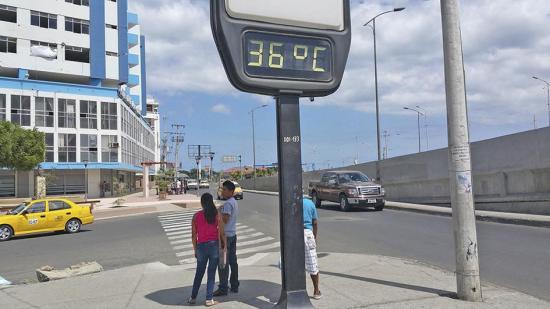La temperatura llegó a 36 grados
