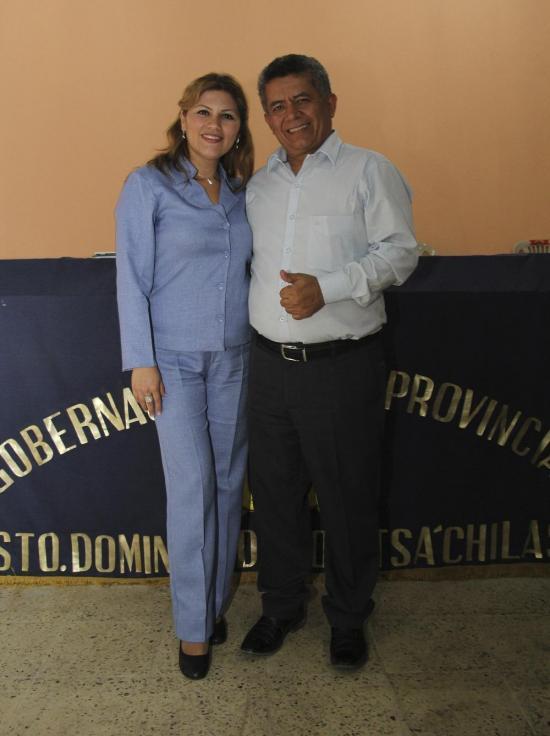 Mayra Granja asume la Tenencia Política