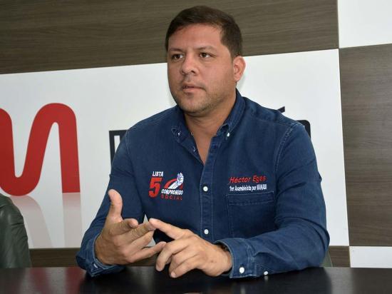 Héctor Egas: Reformar la  ley de pesca