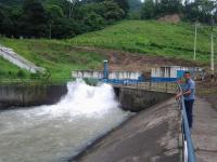 Un escáner para ver  estado de 2 represas