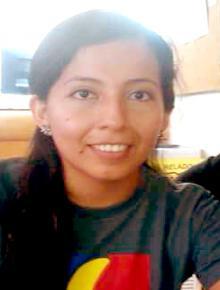 Sepelio Nadia Elizabeth Zamora Suárez