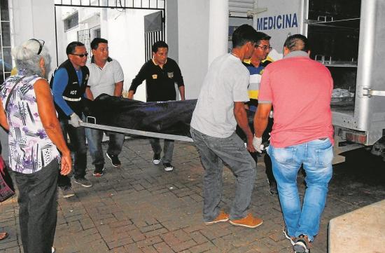 'Don Víctor' murió tras recibir dos impactos de bala