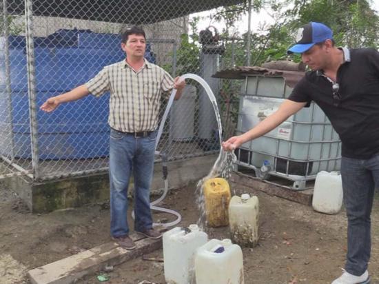 Tres comunidades son beneficiadas con una planta de agua potable