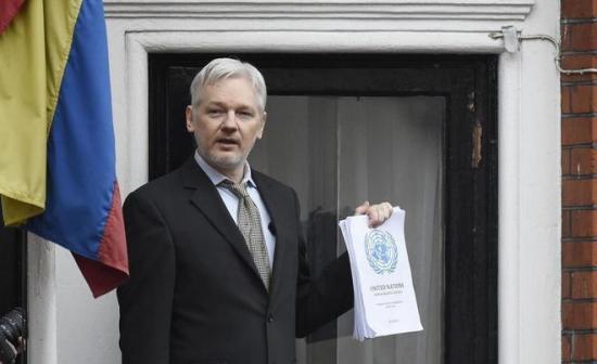 Assange pide a EE.UU. que aclare si ha pedido su extradición