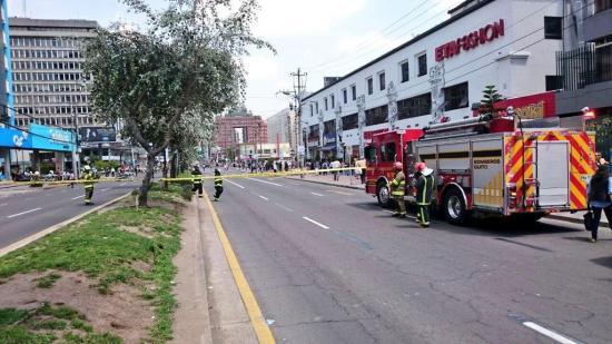 Amenaza de bomba puso en alerta a sector norte de Quito