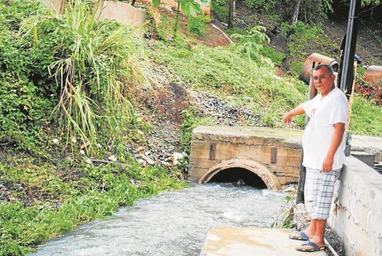 Las lluvias despiertan preocupación en zonas bajas