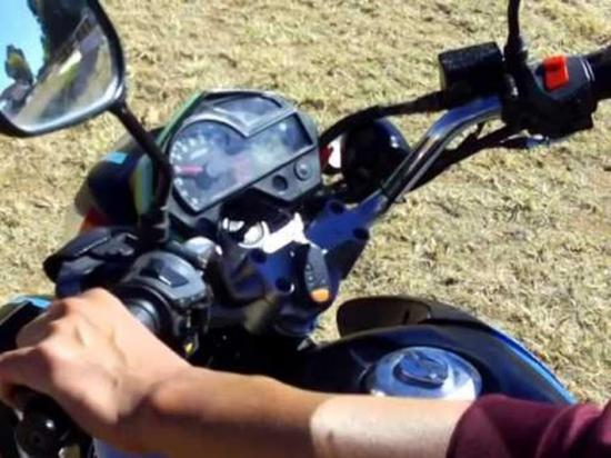 Denuncian robo de una moto en San Plácido