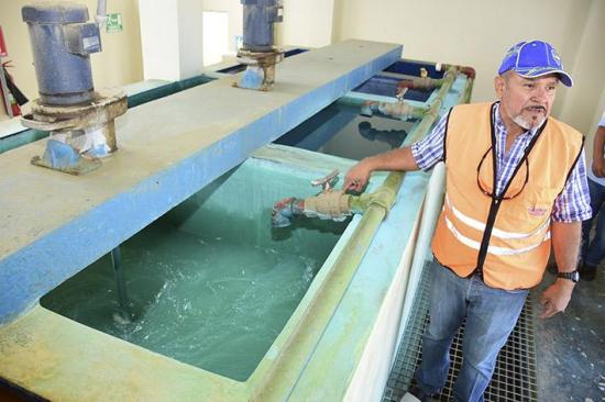 No potabilizan agua de acueducto