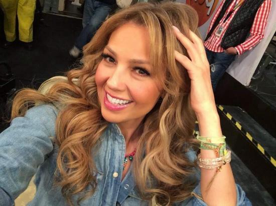Thalía se muestra sin gota de maquillaje en redes sociales