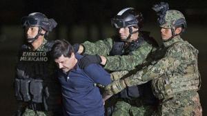 El Gobierno de México extradita al 'Chapo' Guzmán a Estados Unidos