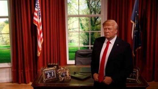 Trump estrena su figura de cera en el Museo Madame Tussauds de Orlando