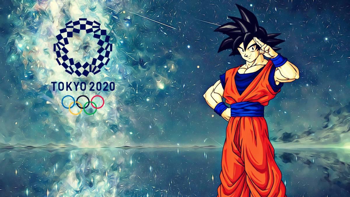 Gokú es nombrado embajador de los Juegos Olímpicos Tokio 2020