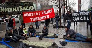 Washington se alista para numerosas protestas por la investidura de Trump
