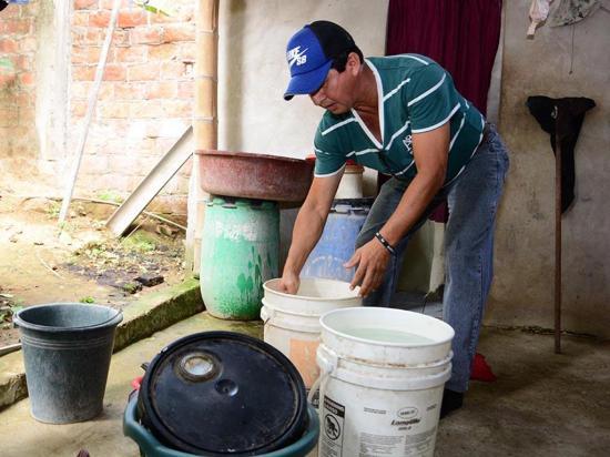 En San Plácido llevan once días sin el servicio de agua entubada