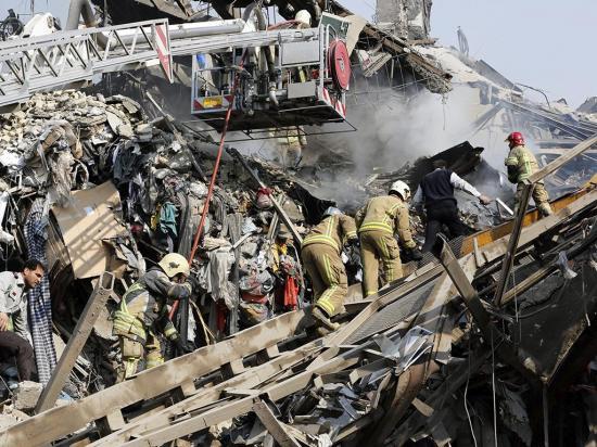 Muertos y heridos tras gran incendio