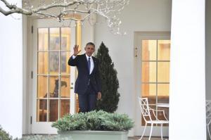 Barack Obama se despide del Despacho Oval antes de entregar la presidencia de EE.UU.