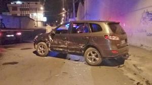 Investigan accidente en la avenida 113
