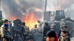 11 muertos tras una explosión en un campamento de desplazados sirios