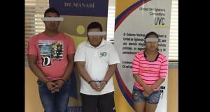 Cuatro personas son detenidas tras persecución policial en Chone