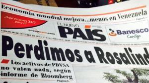 El Nuevo País dejará temporalmente de ser diario por falta papel en Venezuela