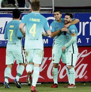 El Barça afrontará cuatro entrenamientos y dos partidos esta semana