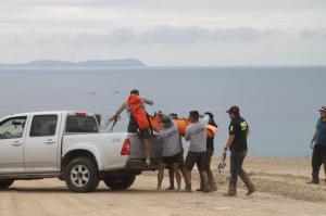 Fiscalía espera resultado de prueba de ADN realizada al cuerpo hallado en Montecristi