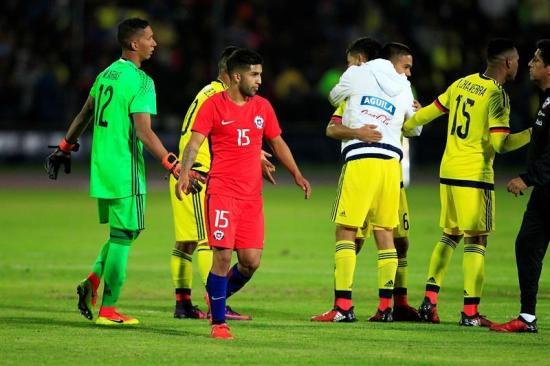 Colombia Sub 20 Hoy: Ever Valencia Clasifica A Colombia Y Chile Dice Adiós Al