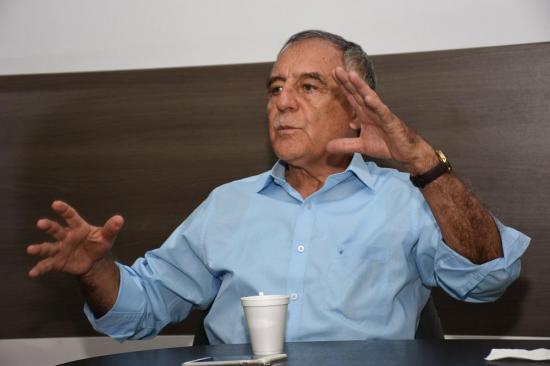 Paco Moncayo: 'Manabí debe ser un prestador de servicios'