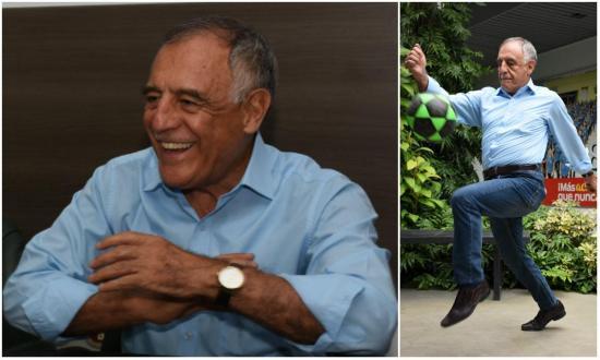 """En el fútbol """"soy muy bueno, de lo mejor"""", dice Paco Moncayo"""