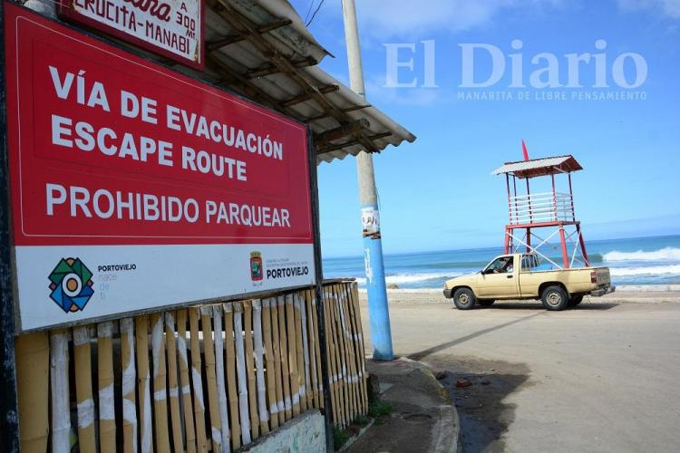 Simulacro de tsunami se realizó en Manabí con poca participación