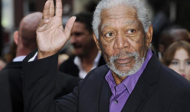 Morgan Freeman recibe premio honorífico y destaca virtudes de la edad adulta