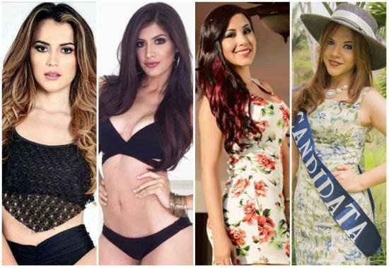 ¡4  manabas en el Miss Ecuador!