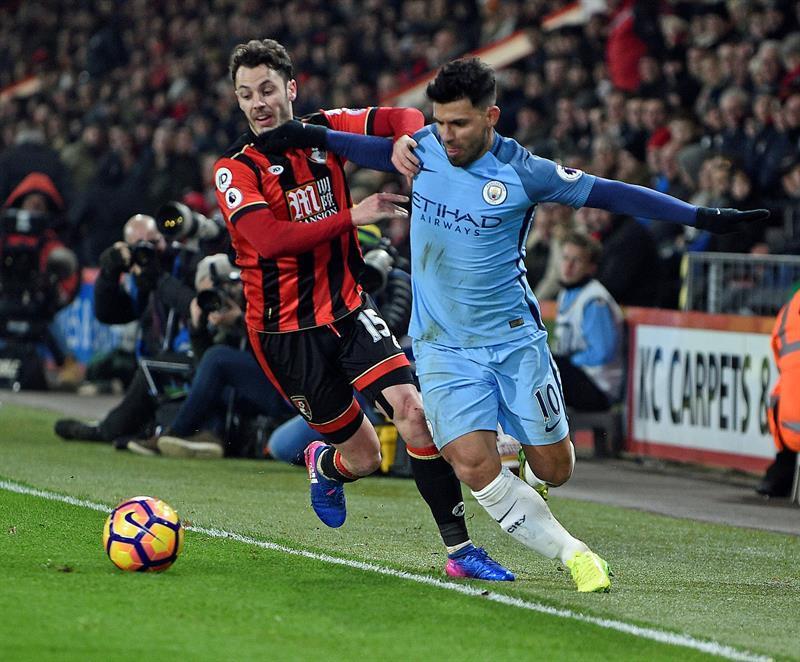El Manchester City sube a la segunda casilla tras vencer al Bournemouth