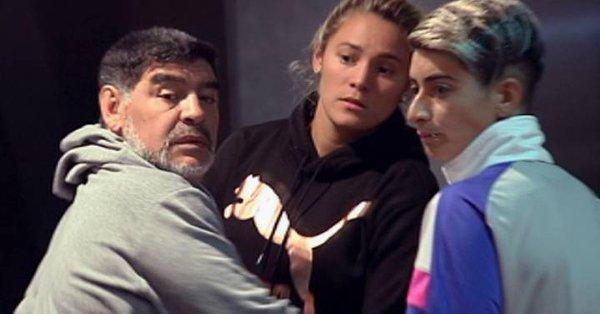 Una fuerte discusión de Maradona con su pareja alerta a la policía