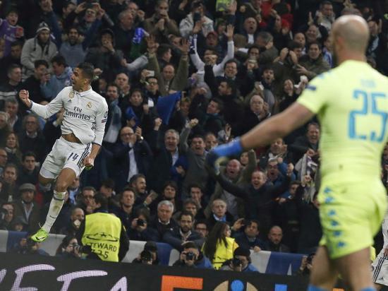 El Real Madrid da su primer paso a cuartos de final