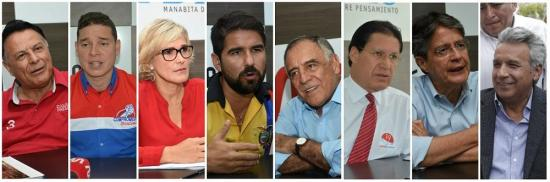 Los 8 presidenciables y sus propuestas de campaña