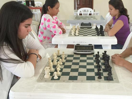 Selectivo  provincial  de ajedrez en Portoviejo