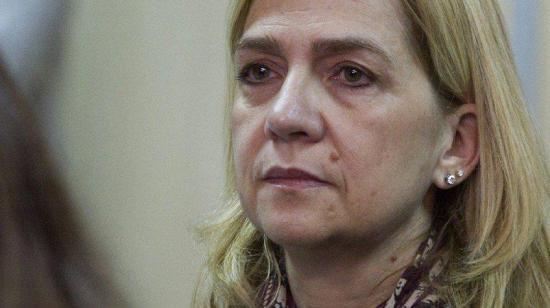 La infanta Cristina fue absuelta en caso de corrupción, su esposo irá a prisión