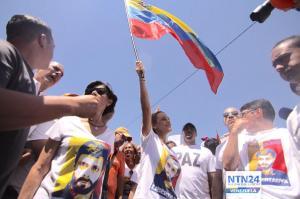 Cientos de personas se toman Caracas para pedir la libertad de Leopoldo López