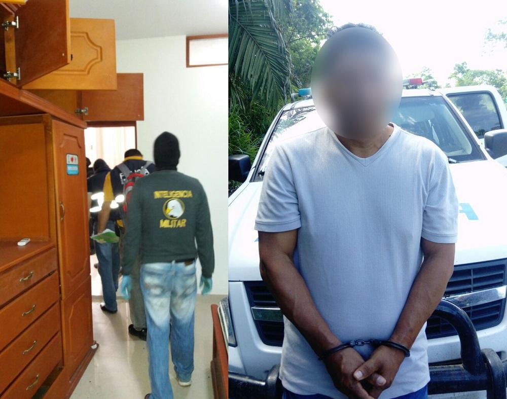 Le encontraron armas y balas el diario ecuador for Interior y policia porte y tenencia