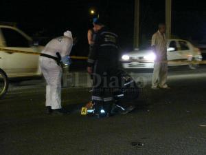 Motociclista muere tras chocar con un taxi en la vía Manta-Rocafuerte