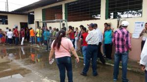 Jornada electoral en Puebloviejo se desarrolla con normalidad