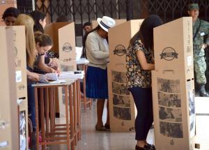 Más del 69% de electores han sufragado hasta las 15h00, según Pozo