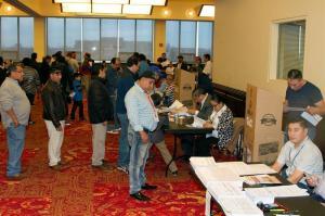 Los ecuatorianos en Nueva York y Nueva Jersey votan con normalidad