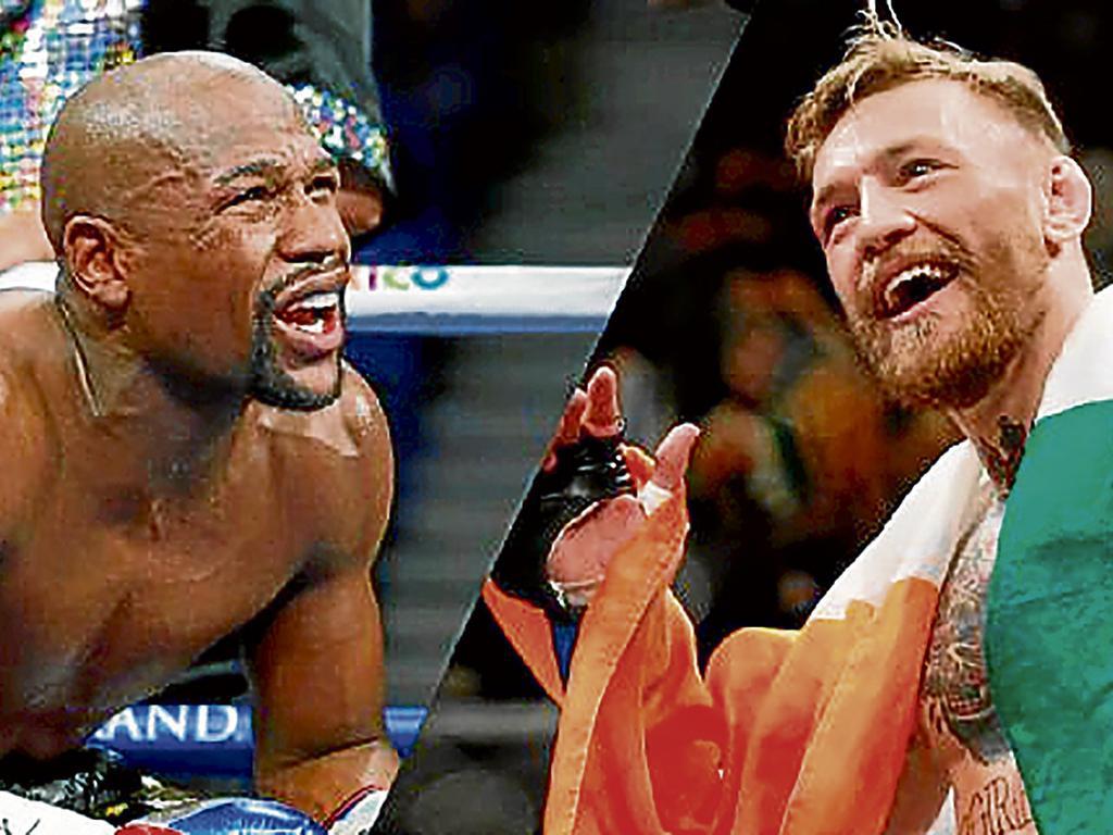 Se abrieron las apuestas  entre  Mayweather y McGregor