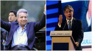 EXIT POLL: Lenin Moreno y Guillermo Lasso lideran tendencia electoral