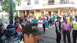 Proceso electoral en varios cantones manabitas inició con retraso
