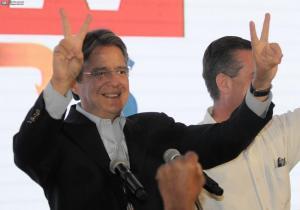 Guillermo Lasso: 'Gracias a todos... se confirma la segunda vuelta electoral'