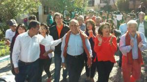 Paco Moncayo dio mensaje tras sufragar en Quito